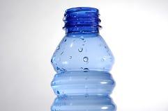 Blue bottle II Stock Image