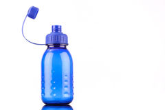 Blue bottle Stock Photography