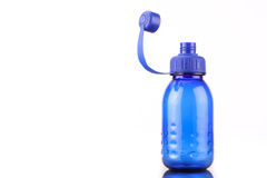 Blue bottle Royalty Free Stock Image