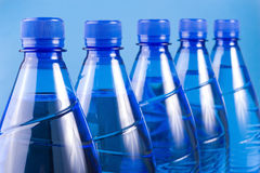 Free Blue Bottles Royalty Free Stock Photography - 3873287