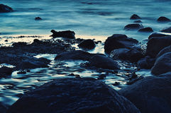 Blue Boulders Royalty Free Stock Photos