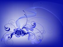 Blue bouquet Royalty Free Stock Photo