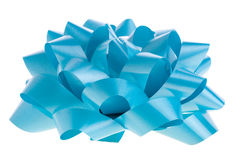 Blue bow Royalty Free Stock Images