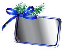 Blue bow Royalty Free Stock Photo