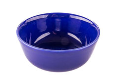 Blue bowl Royalty Free Stock Photos