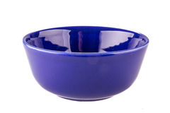 Blue bowl Royalty Free Stock Photo