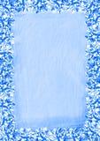 Blue Bows Border royalty free illustration