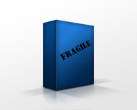 Blue box Royalty Free Stock Image
