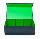 Blue box Stock Images