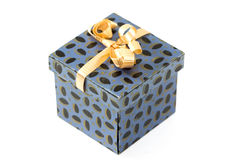 Blue Box Gift Stock Photos