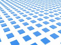 Blue Box Grid Stock Image
