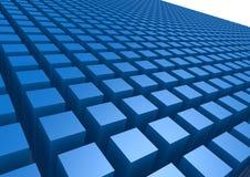 Blue box pattern Royalty Free Stock Photos
