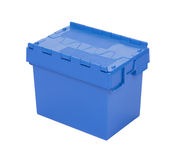 Blue box for tools isolated Stock Photography