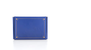 Blue box Stock Photography