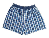 Blue Boxers Stock Images