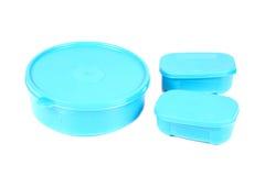 Blue boxes Stock Photos