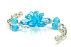 Blue bracelet Royalty Free Stock Image