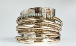 Blue bracelet design Stock Photo
