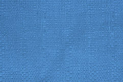 Blue braid fabric texture for background Stock Photos