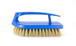 Blue brass scrub brush Stock Images