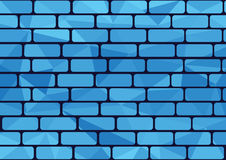 Blue brick Stock Photos