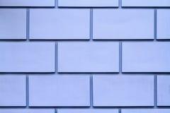 Blue brick wall Royalty Free Stock Images
