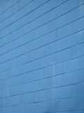 Blue brick wall Royalty Free Stock Photo