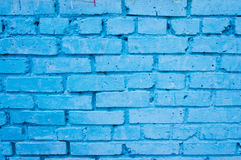 Blue brick wall Royalty Free Stock Image
