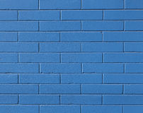 Blue Brick Wall Stock Image