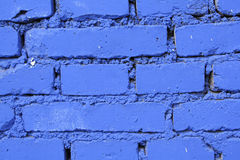 Blue Brick Wall Stock Images