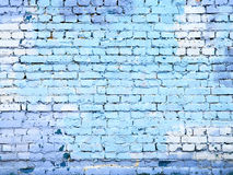 Blue brick wall stone texture background for design Royalty Free Stock Photography