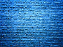 Blue brick wall stone texture background for design Stock Photos