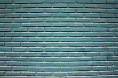 Blue Brick Wall Texture Stock Image