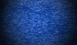 Blue brick wall texture background royalty free stock image