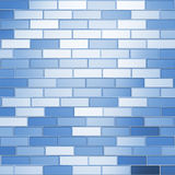 Blue bricks Royalty Free Stock Image