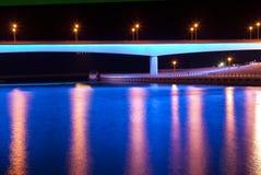 Blue Bridge Stock Images