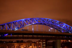 The Blue Bridge Stock Photography