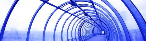 Blue bridge Royalty Free Stock Photo