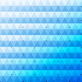 Blue bright abstract triangles seamless pattern background Stock Photography