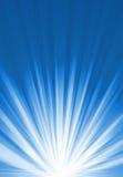 Blue bright light Stock Photo