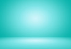 Blue bright room. A bright empty room in different shades of blue Stock Image