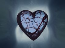 Broken hearted royalty free stock image