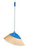 Blue broom Stock Photo