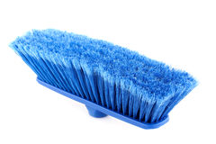 Blue broom Stock Photography