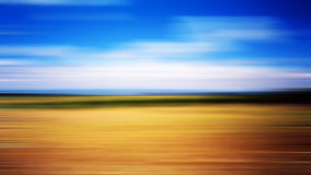 Blue and brown. Blurred natural background with sky and earth colors Stock Images