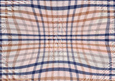 Blue and brown abstract textile background. Royalty Free Stock Photos