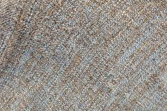 Blue and Brown Blanket Textile Texture Background Stock Images