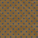 Blue and Brown Polka Dot Crumpled Paper Stock Photos