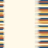 Blue-brown striped предпосылка для текста Стоковые Изображения RF