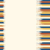 Blue-brown striped background for text Royalty Free Stock Images